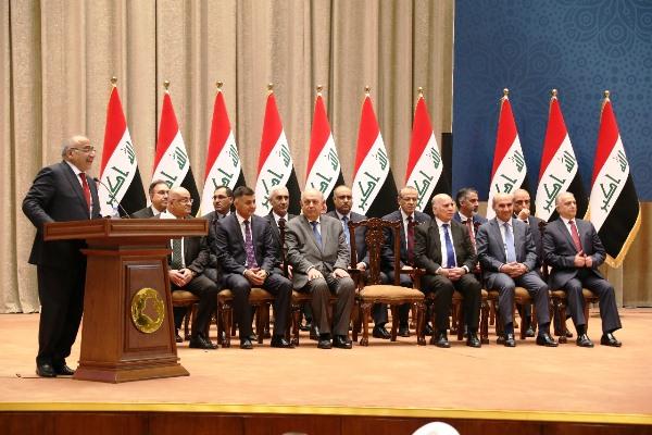 نتيجة بحث الصور عن حكومة عادل عبد المهدي